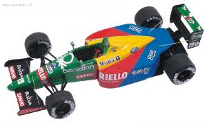 Benetton Ford B189 F1 British GP 1989 Nannini - Pirro 1/43 Tameo Kit