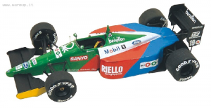 Benetton Ford B189b F1 USA GP 1990 Nannini - Piquet 1/43 Tameo Kit