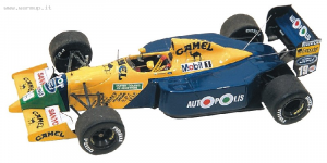 Benetton B190b F1 USA GP 1991 Moreno - Patrese 1/43 Tameo Kit