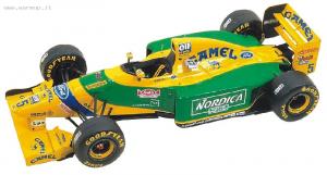 Benetton Ford B193b F1 Portuguese GP 1993 M.Schumacher - Patrese 1/43 Tameo Kit