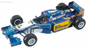 Benetton Renault B195 Spanish GP 1995 M.Schumacher - Herbert 1/43 Tameo Kit