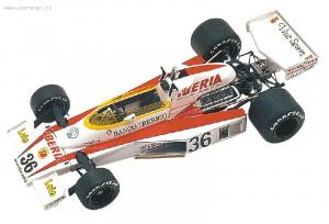 Mclaren M23 Austrian/Spanish GP 1977 Villota 1/43 Tameo Kit