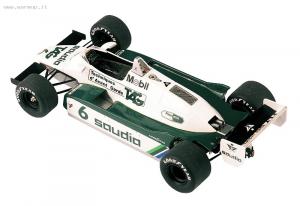 Williams Ford FW08 F1 Switzerland GP 1982 Winner Keke Rosberg - D. Daly 1/43 Tameo Kit