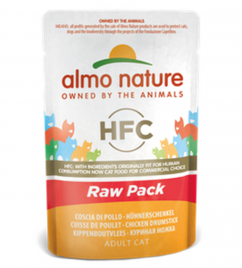 Almo Nature - HFC Cat - Adult - Raw Pack - 55g x 6 buste