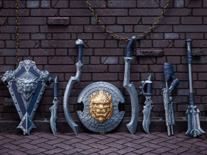 *PREORDER* Animal Warriors of the Kingdom: WEAPONS SET 2 by Spero Studios