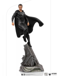 *PREORDER* Zack Snyder's Justice League Art Scale: SUPERMAN BLACK SUIT by Iron Studio