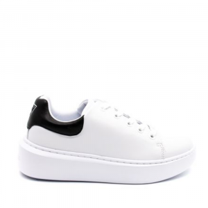 Sneakers donna GUESS FL6BRDELE12 WHBLK -21
