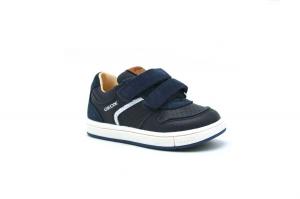 B Trottola Boy sneaker in pelle