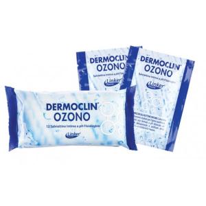 DERMOCLIN SALVIETTINE INTIME OZONO 12PZ