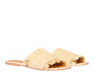 Fringed Sandals Yucatàn - MANEBI
