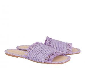 Fringed Sandals Yucatàn - MANEBI