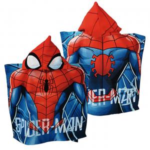 Poncho Spiderman misura 55x110 cm