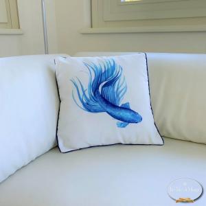 Cuscino pesce Bluey