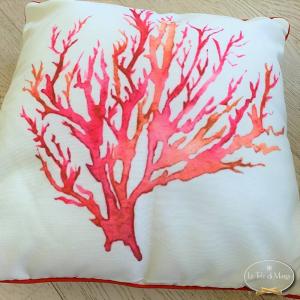 Cuscino Corallo rosso
