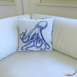 Cuscino doubleface Octopus