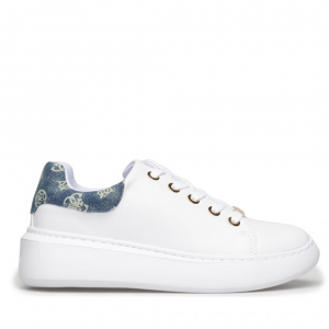 Sneakers donna GUESS FL6B2RDEN12 WHITE -21
