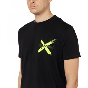 T-shirt MY BRAND 1 X21 001 A0010 BLACK -21