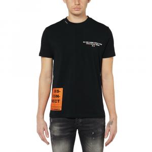 T-shirt MY BRAND 1 X21 001 A0003 BLACK -21