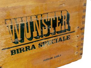 Cassetta vintage birra WUNSTER