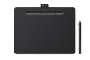 Wacom Intuos M Bluetooth tavoletta grafica Nero 2540 lpi (linee per pollice) 216 x 135 mm USB/Bluetooth
