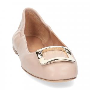 Anna de Bray ballerina SQ051 pelle rosa-3