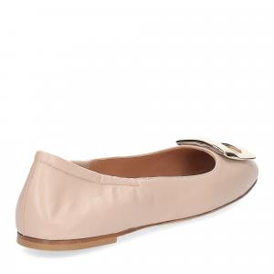 Anna de Bray ballerina SQ051 pelle rosa-5