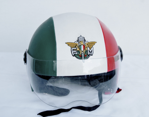 Casco federazione motociclistica italiana
