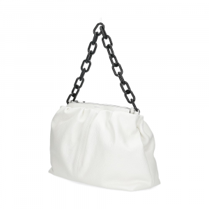 Loristella borsa Debby 2507 pelle bianca-2
