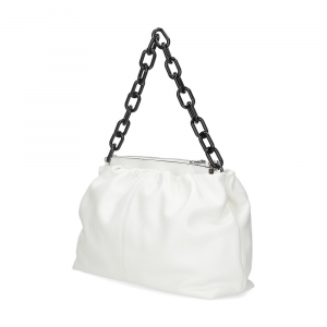 Loristella borsa Debby 2507 pelle bianca-3