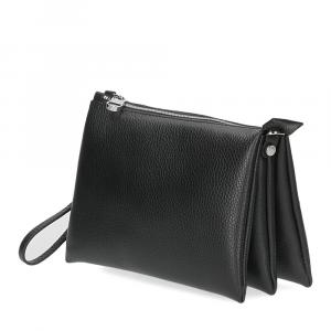 Loristella borsa pochette Lily 2525 pelle nera-2