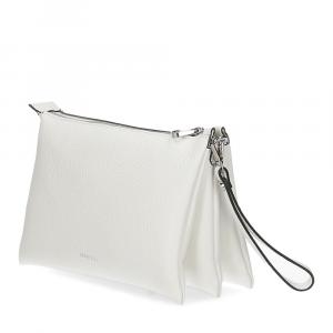 Loristella borsa pochette Lily 2525 pelle bianca-3