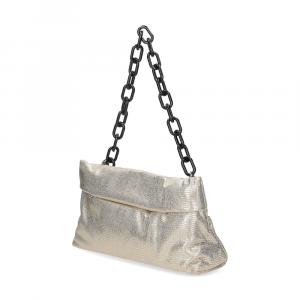 Loristella borsa Shana 2503TCP pelle laminata oro-2