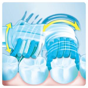 Oral-B Dual Clean Testine di Ricambio (confezione da 3 pezzi) per Spazzolino Elettrico
