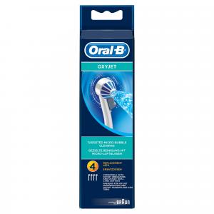 Oral-B Oxyjet Testine di Ricambio, Confezione da 4 pezzi