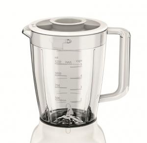 Philips Daily Collection Frullatore 400 W, 2 velocità e funz. pulse, vaso plastica 1,5 l