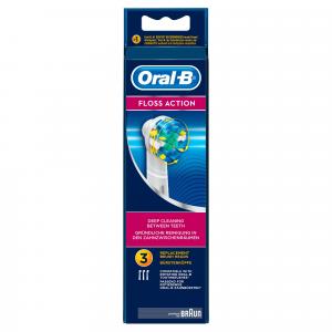 Oral-B Testine Di Ricambio FlossAction, 3 Pezzi