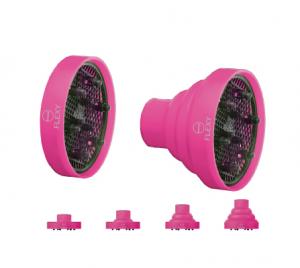 Macom FLEXY diffusore SalvaSpazio universale in silicone per asciugacapelli Colori assortiti