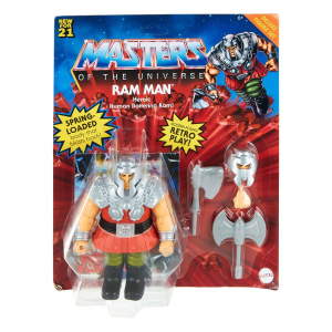*PREORDER* Masters of the Universe ORIGINS: RAM MAN DELUXE by Mattel 2021