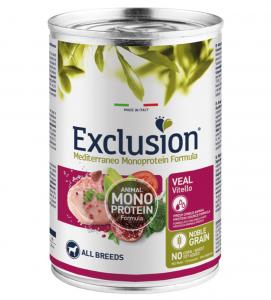Exclusion - Mediterraneo Monoprotein - Adult - 400g x 6 lattine