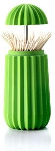 Contenitore per stuzzicadenti colore verde Cactus, Essey
