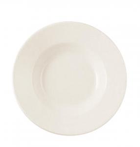 Piatto da tavola fondo in porcellana New Bone Gourmet
