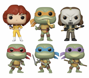 Funko Pop: Teenage Mutant Ninja Turtles SERIE COMPLETA