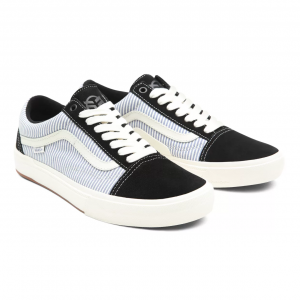 Vans x Federal Old Skool Shoes | Colore Black / White / Blue