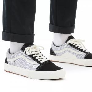 Vans x Federal Old Skool Shoes | Colore Black / White / Blue