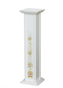Pedestal decorado para macetas 100 cm