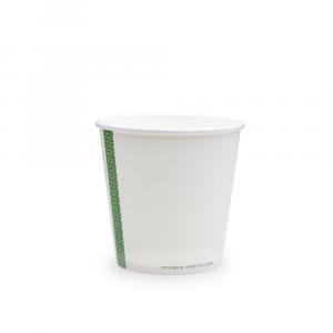 Ciotole asporto zuppe in cartoncino - 650ml serie green stripe