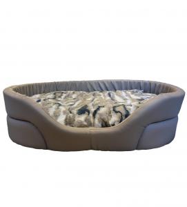 Homerdog - Cuccia Gigante con Cuscino - In Ecopelle - mis.1