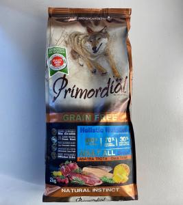 CROCCHETTE - PRIMORDIAL GRAIN FREE Dog Adult ALL Breed ANATRA E TROTA