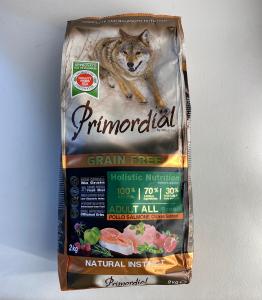 CROCCHETTE - PRIMORDIAL Dog Adult All Breed POLLO e SALMONE