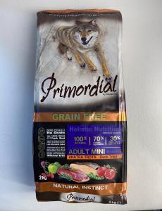 CROCCHETTE - PRIMORDIAL GRAIN FREE Dog Adult MINI ANATRA e TROTA